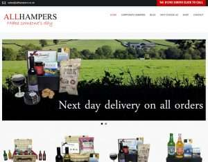 All Hampers Website