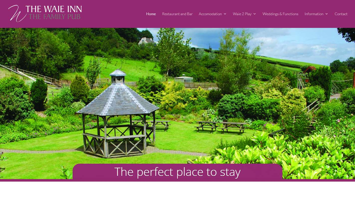 The Waie Inn - Website Design Case Study